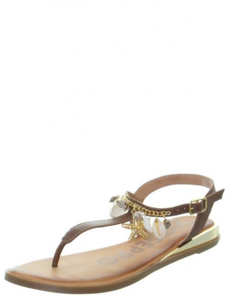 Sandales plates Gioseppo en cuir ref_48733