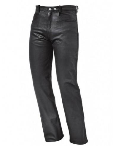 Pantalon homme et femme en cuir vachette souple ref_hel5177