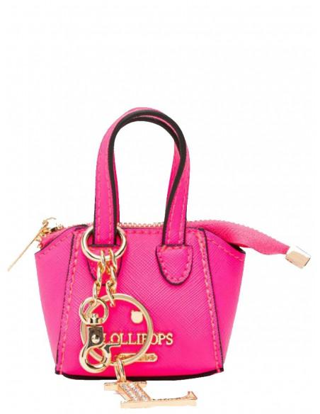 Porte-clés sac Lollipops ref_48971 Fuschia 10*8