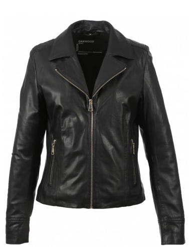 Blouson Oakwood Side en cuir...