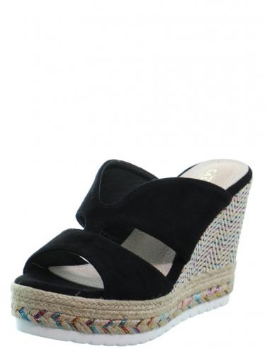 Sandales à talon compensé Cassis...